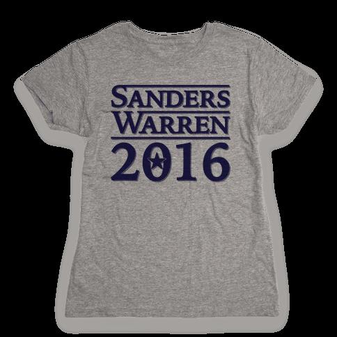 Sanders Warren 2016 Womens T-Shirt