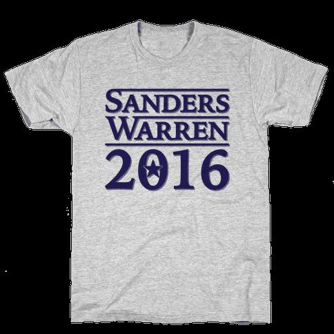 Sanders Warren 2016 Mens T-Shirt