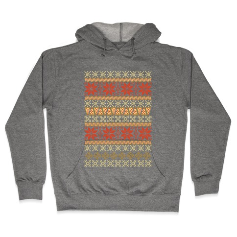 Merry Pizza Hooded Sweatshirt