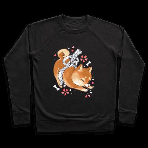 Shiba Inu Dog Pullover