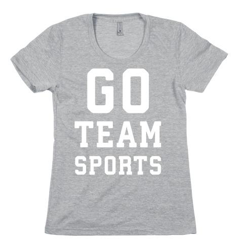 Go Team Sports Womens T-Shirt