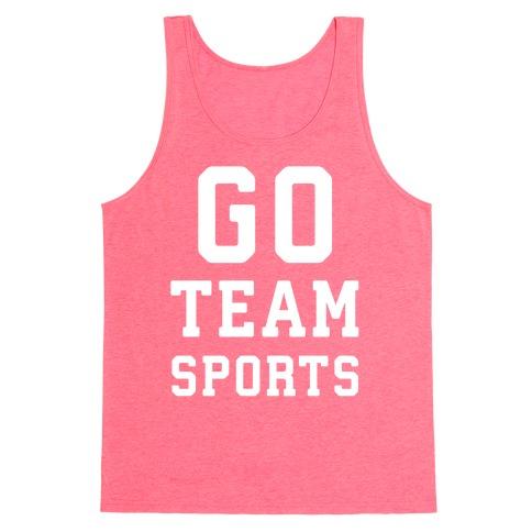 Go Team Sports Tank Top