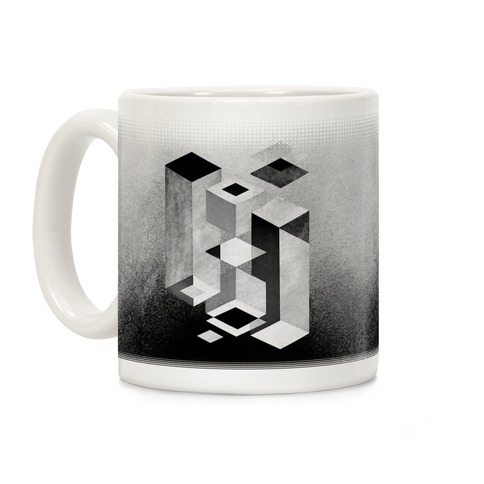 Geometry Optical Illusion Coffee Mug