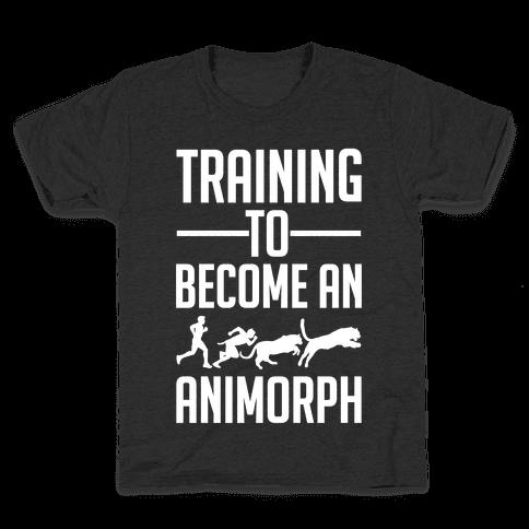 Training To Become An Animorph Kids T-Shirt