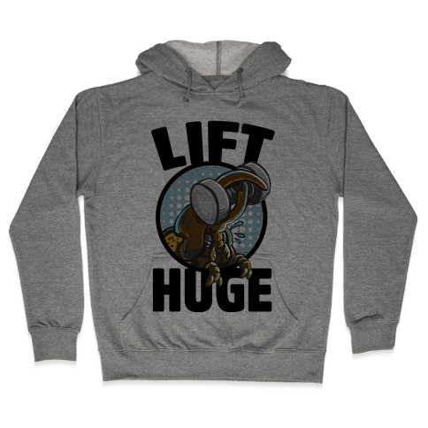 Lift Huge (Hercules Beetle) Hooded Sweatshirt