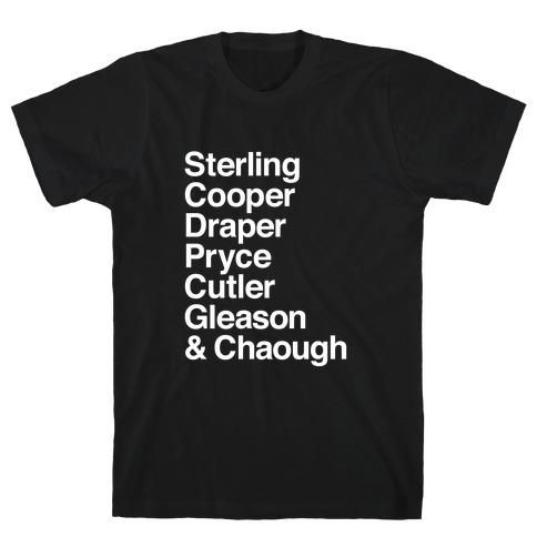 Mad Men Alphabet T-Shirt