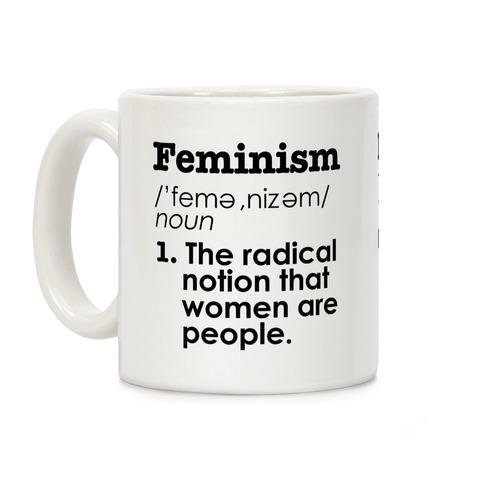 Feminism Definition Coffee Mug