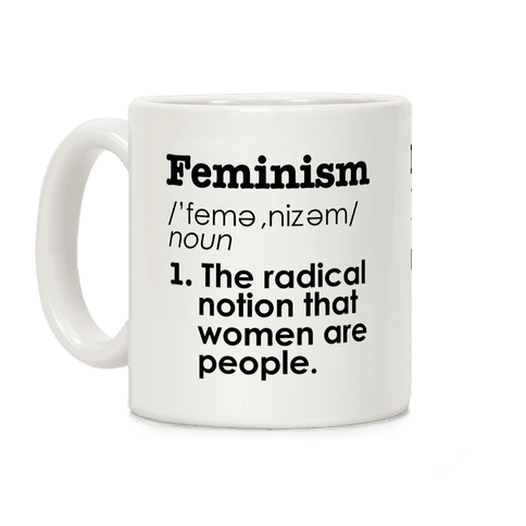Feminism Definition Coffee Mug