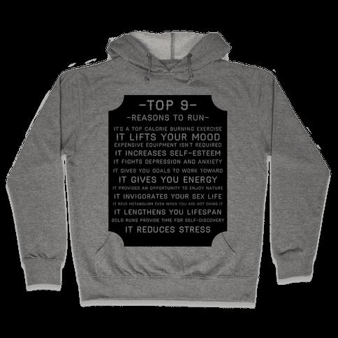 Top 9 reasons to run Hooded Sweatshirt