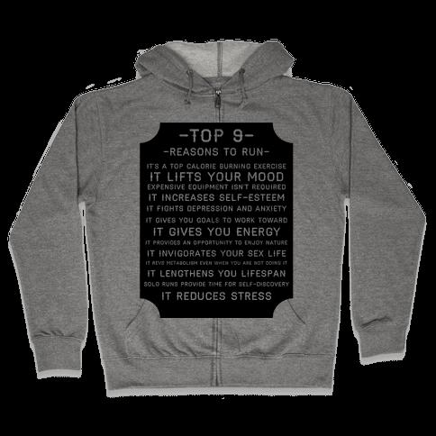 Top 9 reasons to run Zip Hoodie