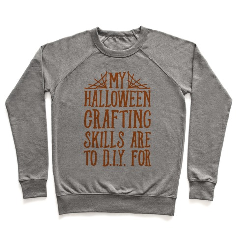 My Halloween Crafting Skills Are To D.I.Y. For Pullover