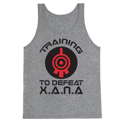 Training To Defeat XANA Tank Top