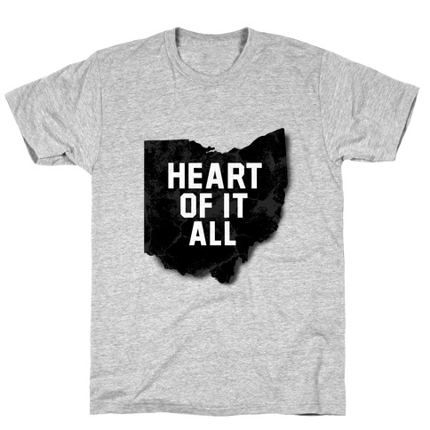 Ohio-Heart of it all T-Shirt