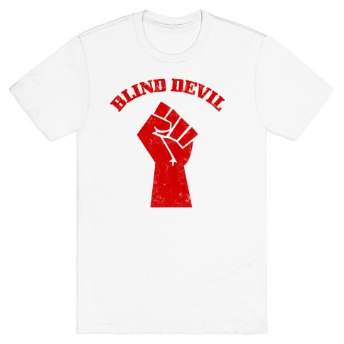 Blind Devil Mens T-Shirt