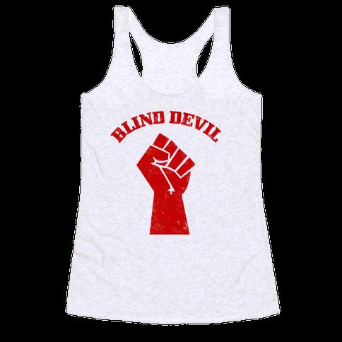 Blind Devil Racerback Tank Top