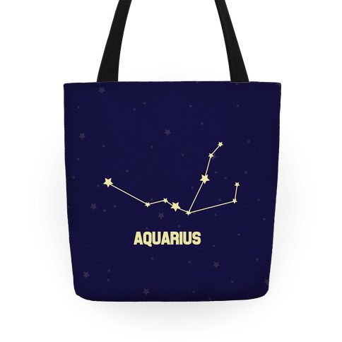 Aquarius Horoscope Sign Tote