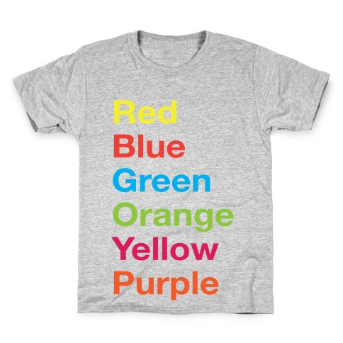 The Colors Kids T-Shirt