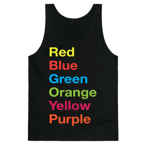 The Colors Tank Top