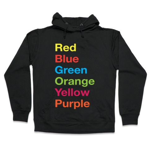 The Colors Hooded Sweatshirt