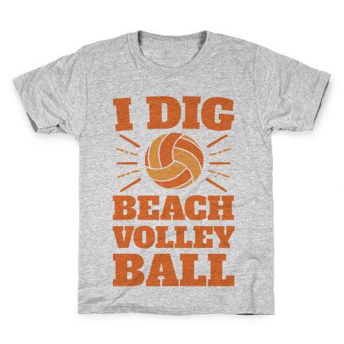 I Dig Beach Volleyball Kids T-Shirt