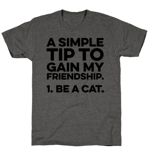 A Simple Tip to Gain My Friendship