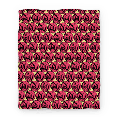 Sleeping Dragon (Red) Blanket
