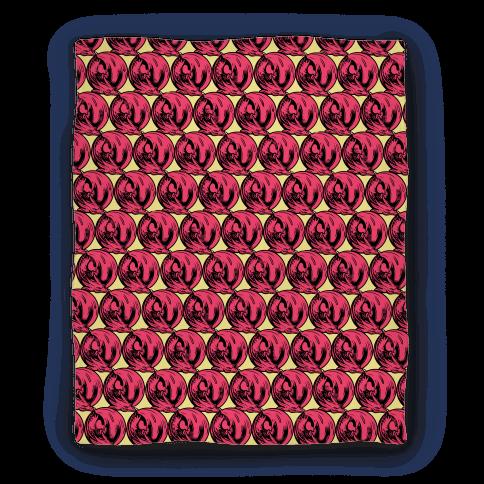 Sleeping Dragon (Red) Blanket