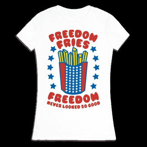 Freedom Fries Womens T-Shirt