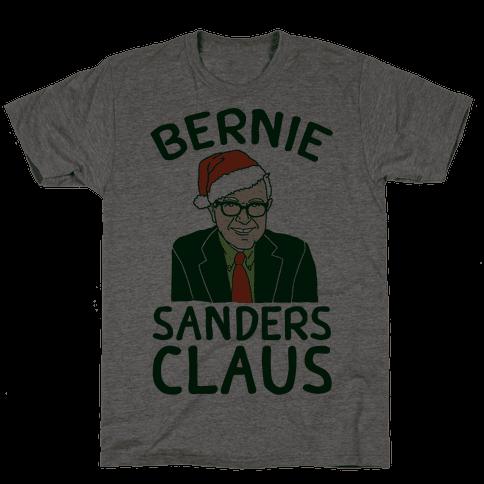 Bernie Sanders Claus Mens T-Shirt