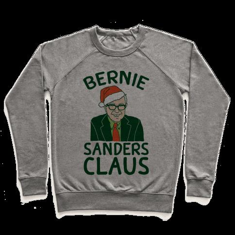 Bernie Sanders Claus Pullover