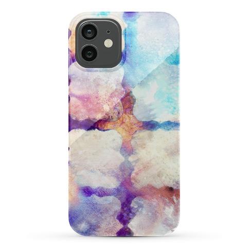Watercolor Rainbow Texture Pattern Phone Case
