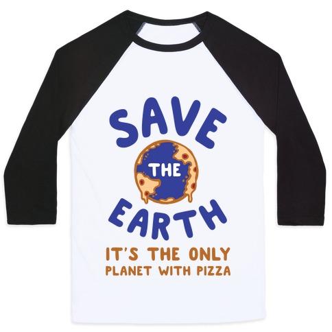 Save The Earth Baseball Tee
