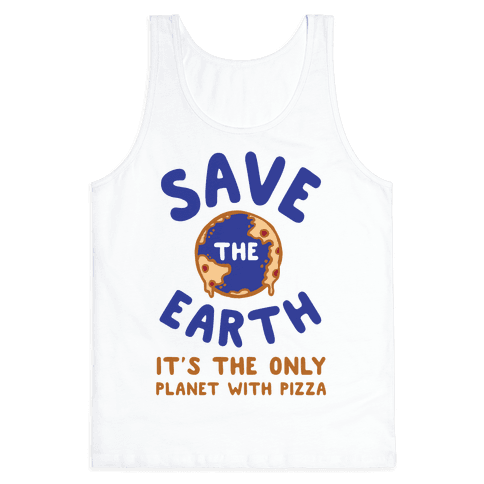 Save The Earth Tank Top