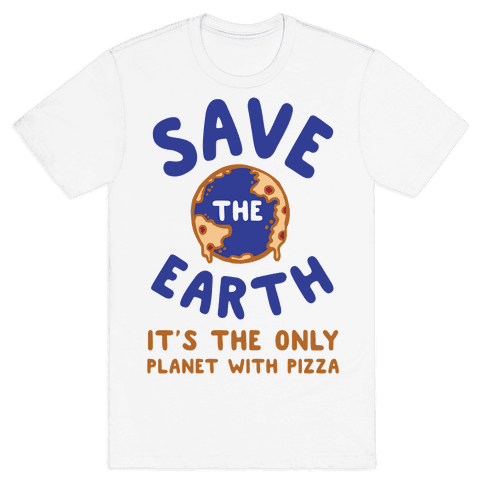 Save The Earth Mens T-Shirt