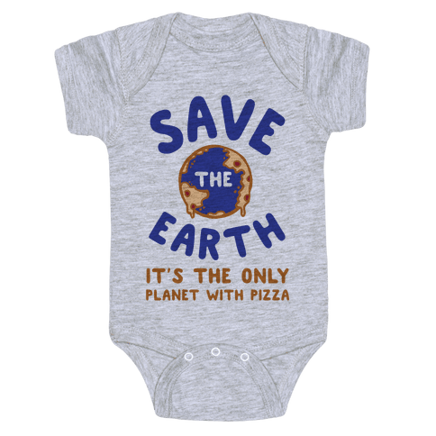 Save The Earth Baby Onesy
