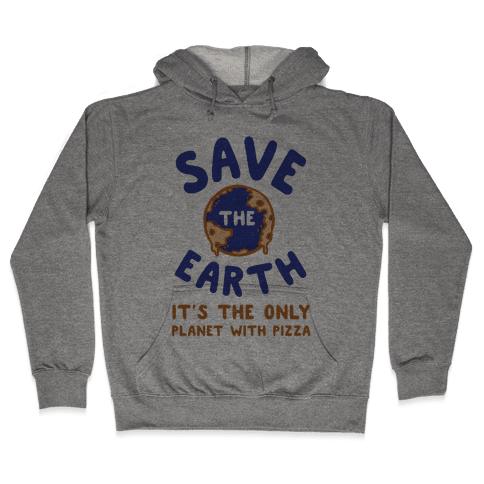 Save The Earth Hooded Sweatshirt