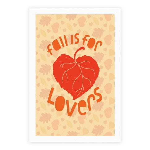 Fall Is For Lovers Poster