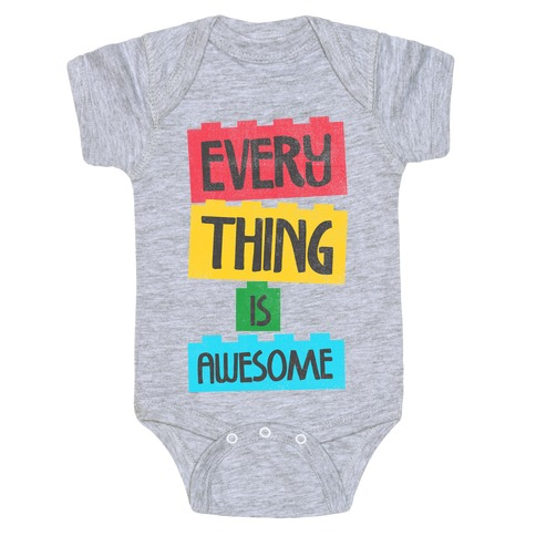 Everything is Awesome Baby Onesy