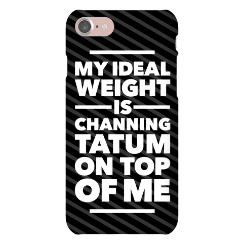 Ideal Weight (Channing Tatum)