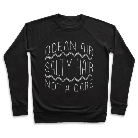 Ocean Air (black) Pullover