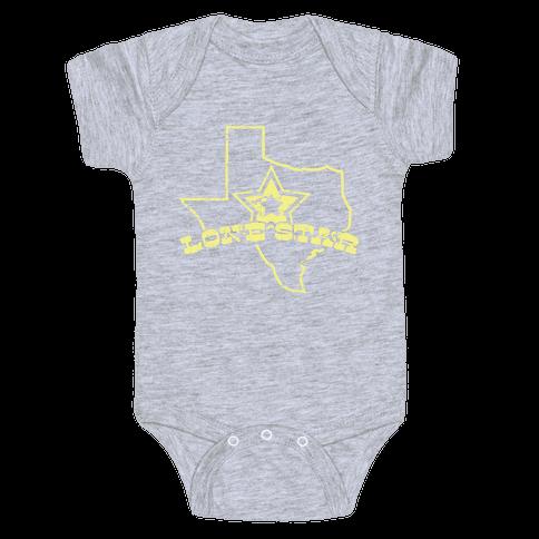 Lone Star State Baby Onesy