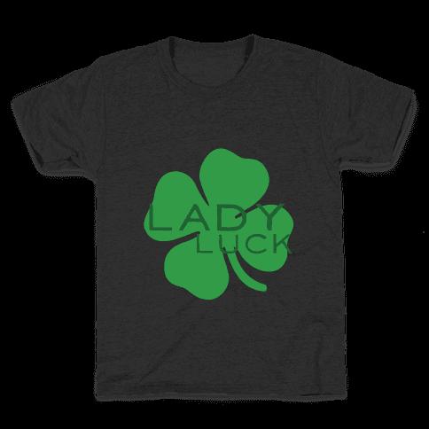 Lady Luck Kids T-Shirt