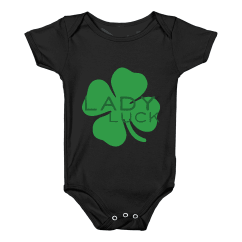 Lady Luck Baby Onesy