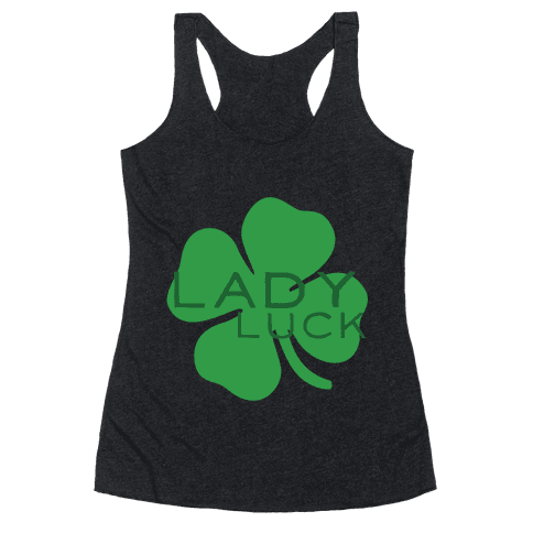 Lady Luck Racerback Tank Top