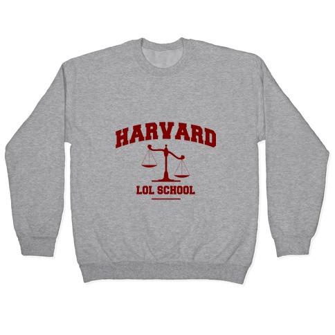 Harvard LOL School Pullover