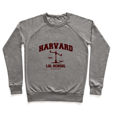 Harvard LOL School Pullover