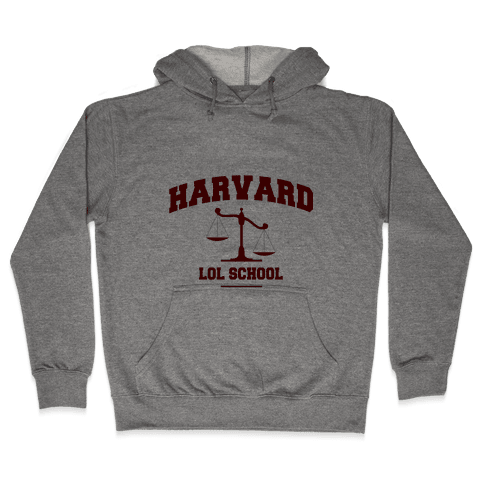 Harvard LOL School Hooded Sweatshirt