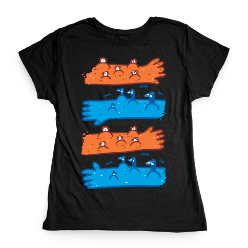 Goose Bumps and Chicken Pox Womens T-Shirt