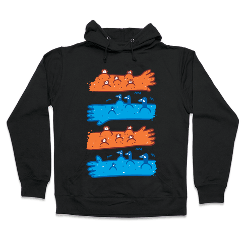 Goose Bumps and Chicken Pox Hooded Sweatshirt