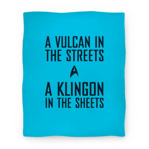 A Vulcan In the Streets Blanket Blanket